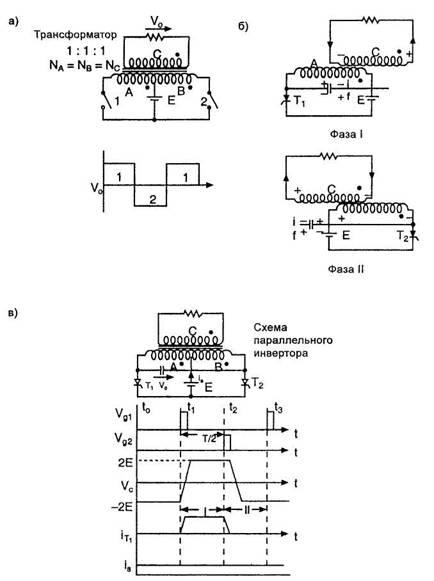 Рис.2 - а) Базовая схема